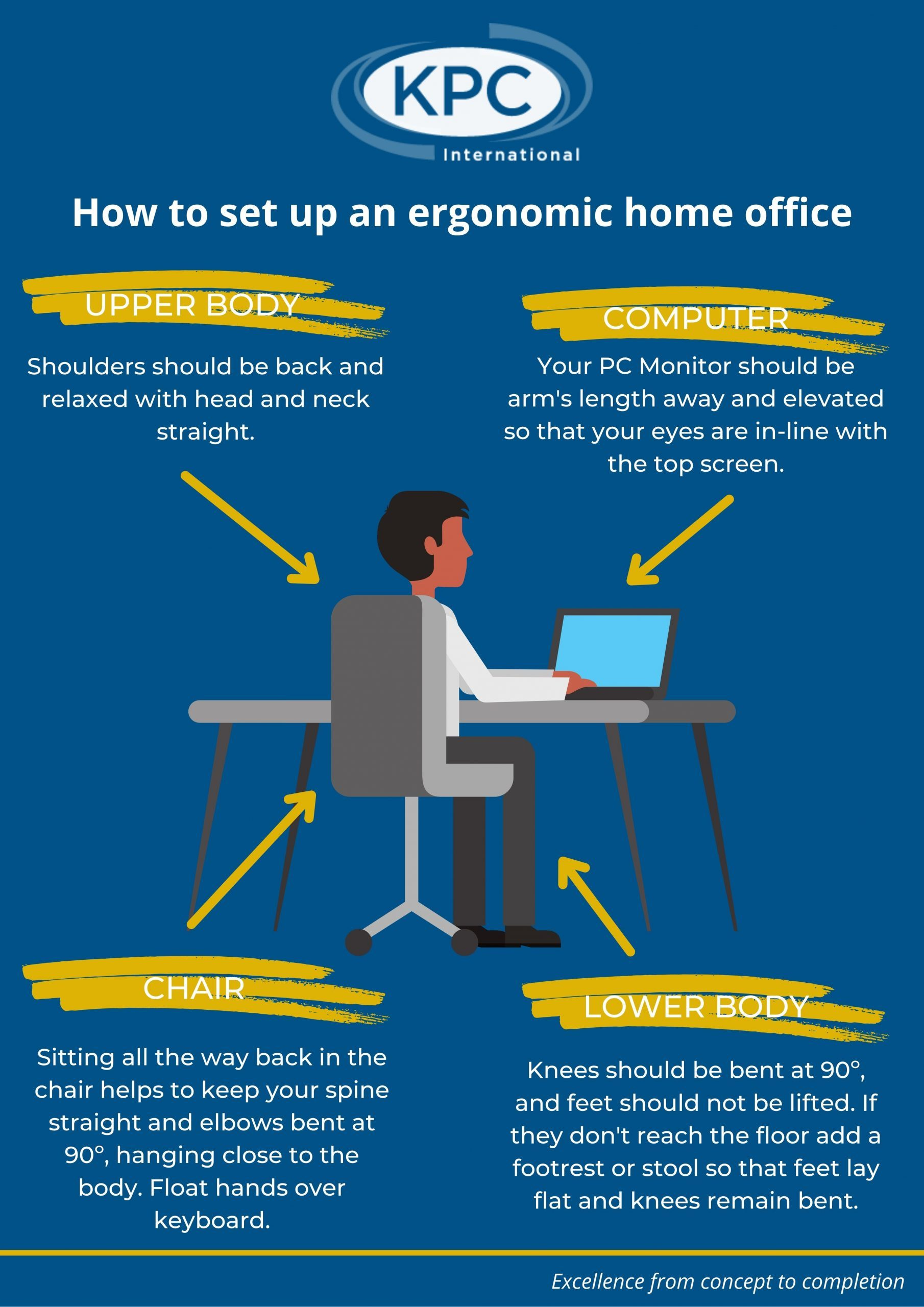 How to set up an ergonomic home office